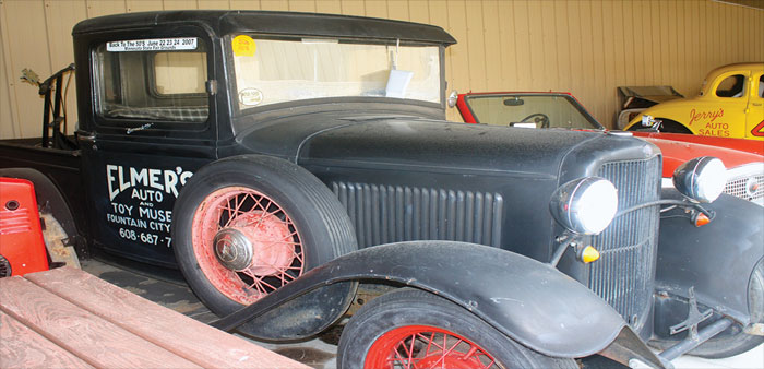 Tons of Treasures at Elmer's Auto and Toy Museum