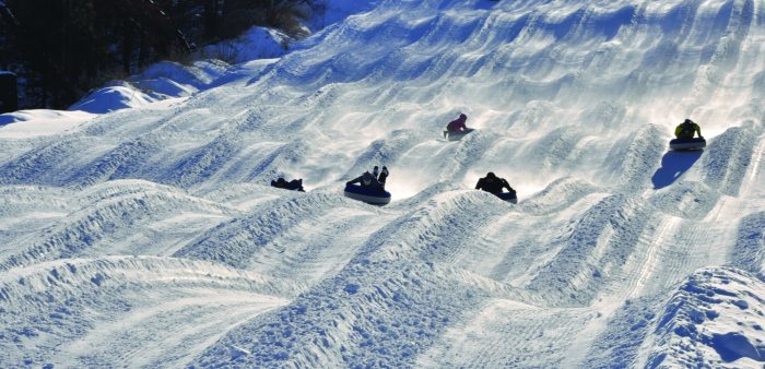 Snow Much Fun Families Flock to Nordic Mountain