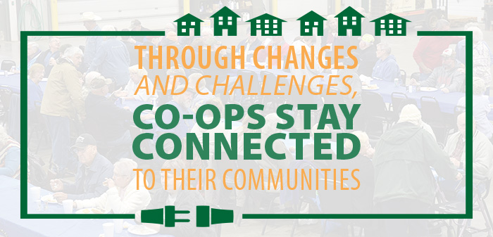 Through Changes and Challenges, Co-ops Stay Connected to their Communities