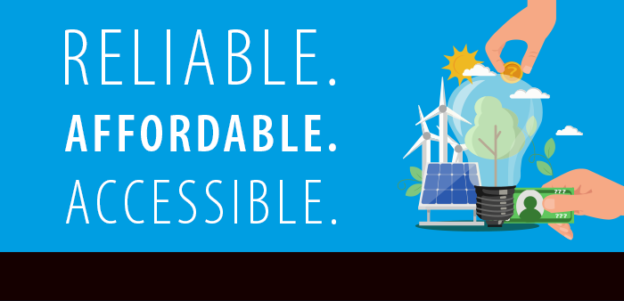 Reliable. Affordable. Accessible.