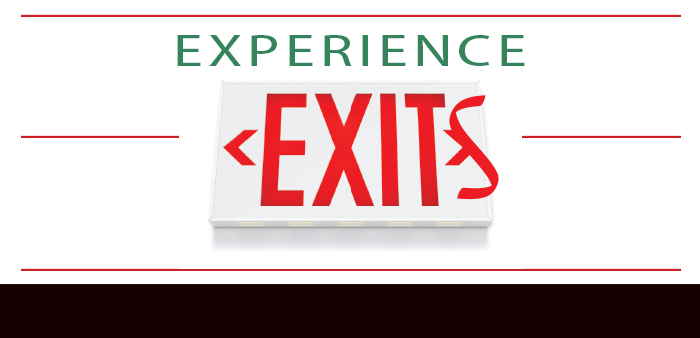 Experience Exits