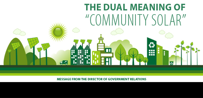 """The Dual Meaning of """"Community Solar"""""""